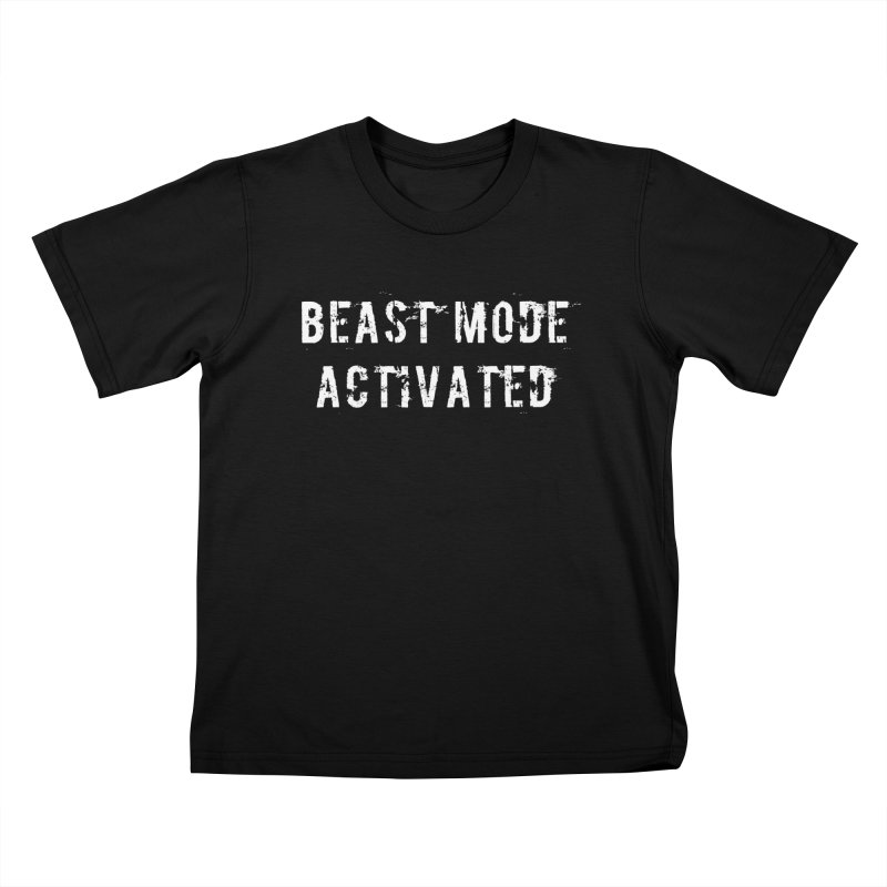 Beast Mode Activated Kids T-Shirt by Aura Designs | Funny T shirt, Sweatshirt, Phone ca