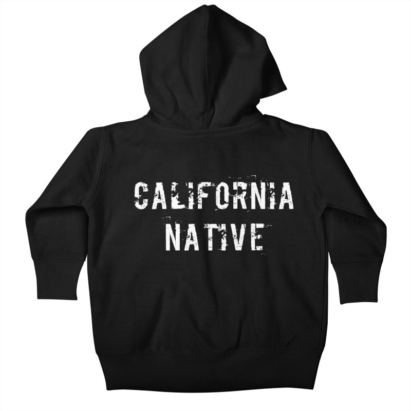 California Native Kids Baby Zip-Up Hoody by Aura Designs   Funny T shirt, Sweatshirt, Phone ca