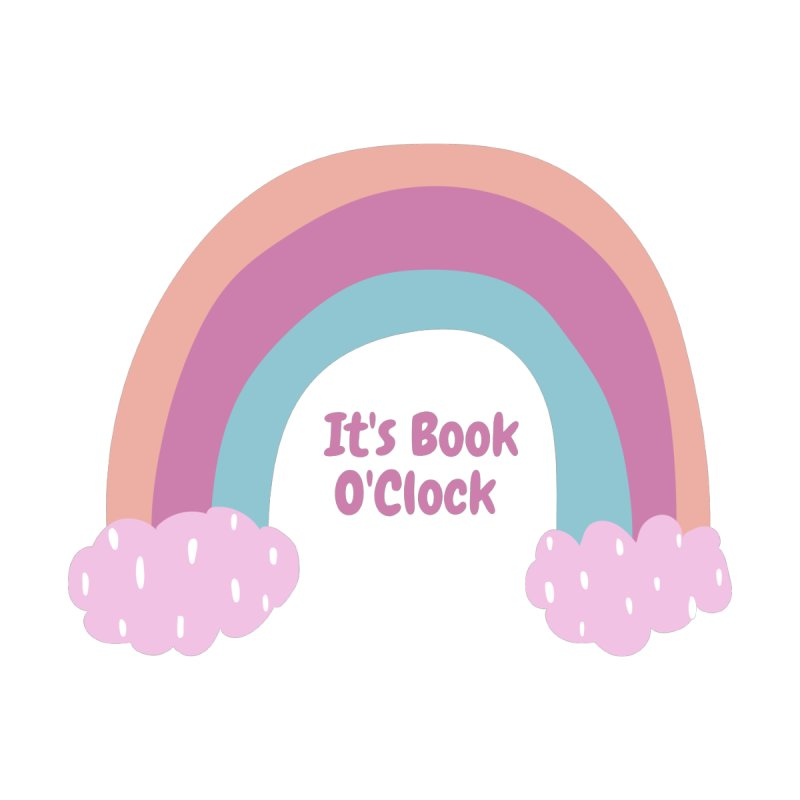 It's Book O'Clock Accessories Bag by Author Lisa Becker's SWAG Shop