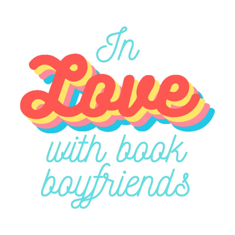 In Love with Book Boyfriends Accessories Sticker by Author Lisa Becker's SWAG Shop