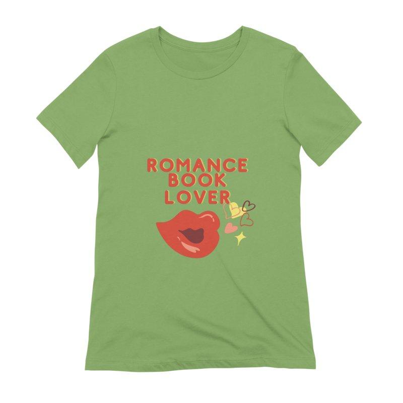Romance Book Lover Women's T-Shirt by Author Lisa Becker's SWAG Shop