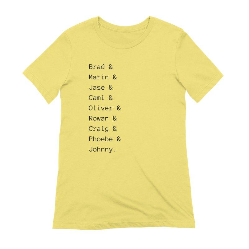 Starfish Rock Star Romance Cast Women's T-Shirt by Author Lisa Becker's SWAG Shop