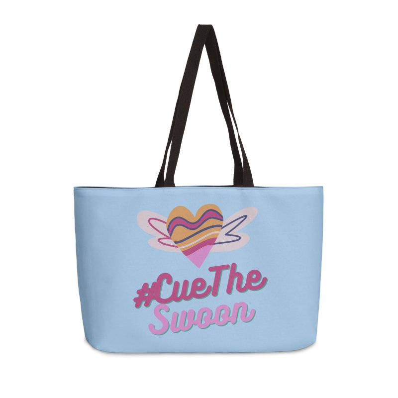 Cue The Swoon Accessories Bag by Author Lisa Becker's SWAG Shop