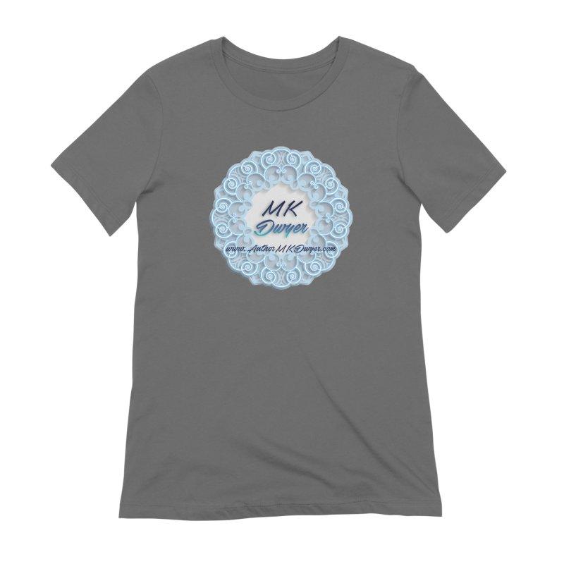 MK Dwyer Logo Women's Extra Soft T-Shirt by AuthorMKDwyer's Artist Shop