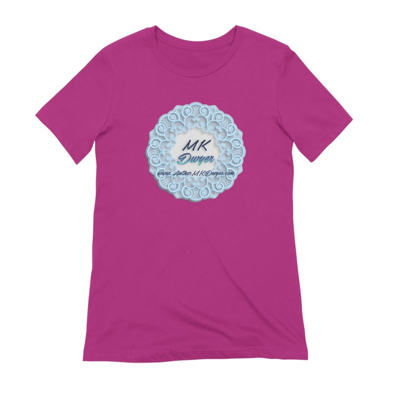 MK Dwyer Logo Women's Extra Soft T-Shirt by AuthorMKDwyer's Artist Shop