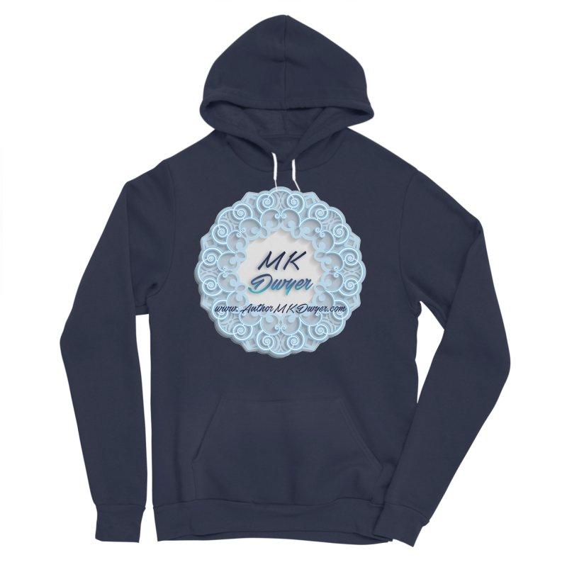 MK Dwyer Logo Men's Sponge Fleece Pullover Hoody by AuthorMKDwyer's Artist Shop