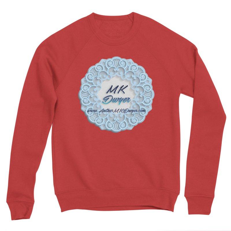 MK Dwyer Logo Men's Sponge Fleece Sweatshirt by AuthorMKDwyer's Artist Shop