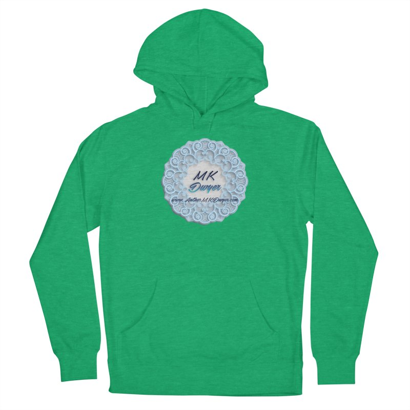 MK Dwyer Logo Women's French Terry Pullover Hoody by AuthorMKDwyer's Artist Shop
