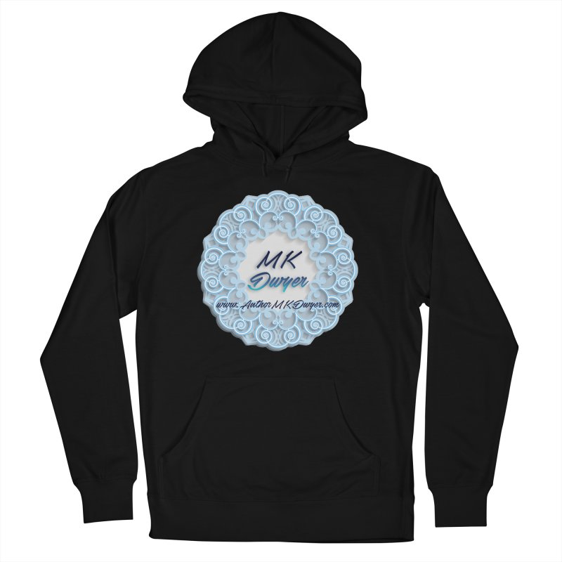 MK Dwyer Logo Men's French Terry Pullover Hoody by AuthorMKDwyer's Artist Shop