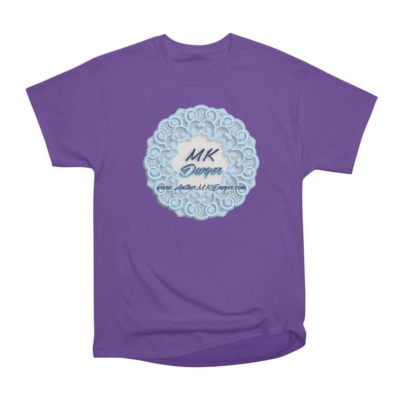 MK Dwyer Logo Women's Heavyweight Unisex T-Shirt by AuthorMKDwyer's Artist Shop