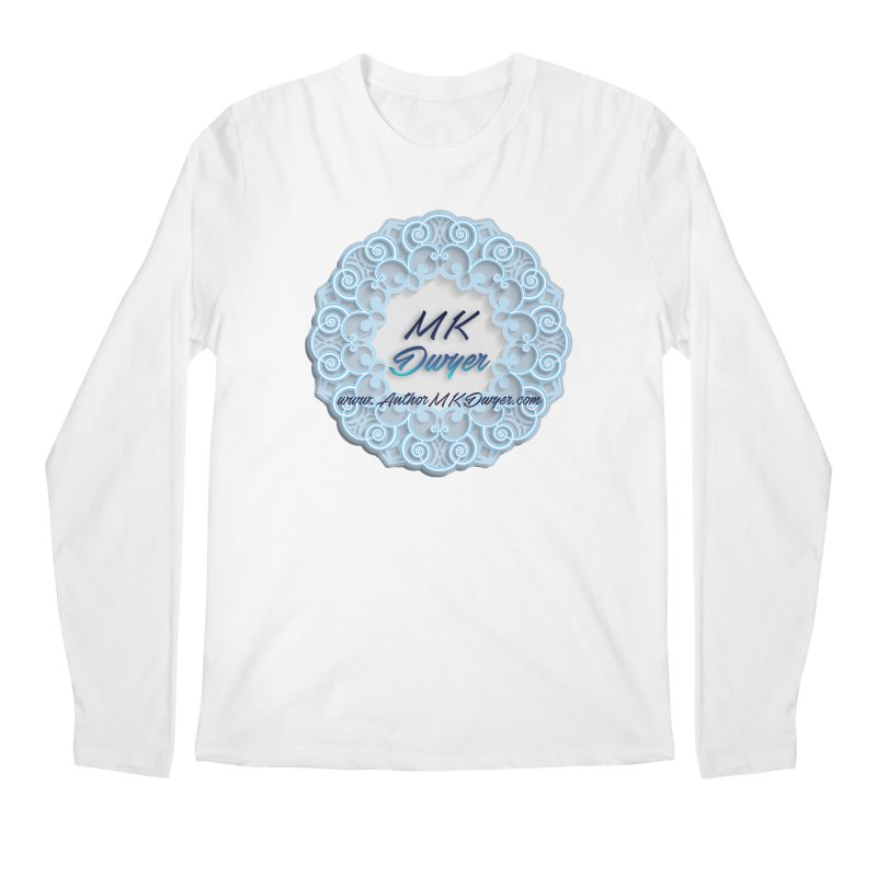 MK Dwyer Logo Men's Regular Longsleeve T-Shirt by AuthorMKDwyer's Artist Shop