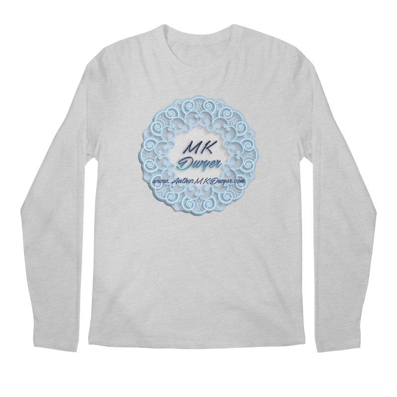 MK Dwyer Logo Men's Regular Longsleeve T-Shirt by AuthorMKDwyer's Artist Shop