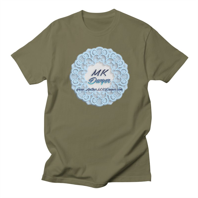 MK Dwyer Logo Men's T-Shirt by AuthorMKDwyer's Artist Shop