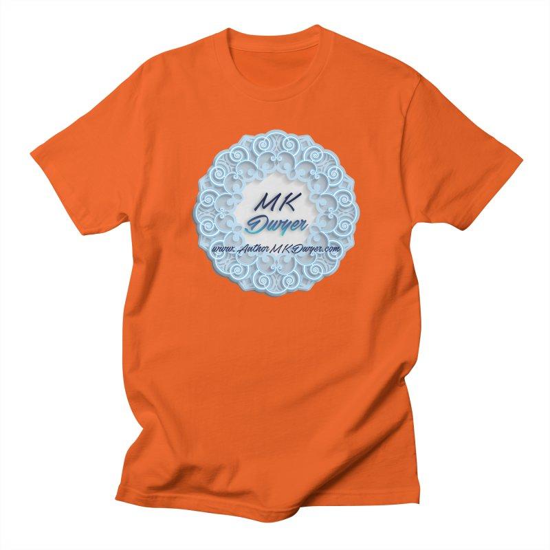 MK Dwyer Logo Men's Regular T-Shirt by AuthorMKDwyer's Artist Shop