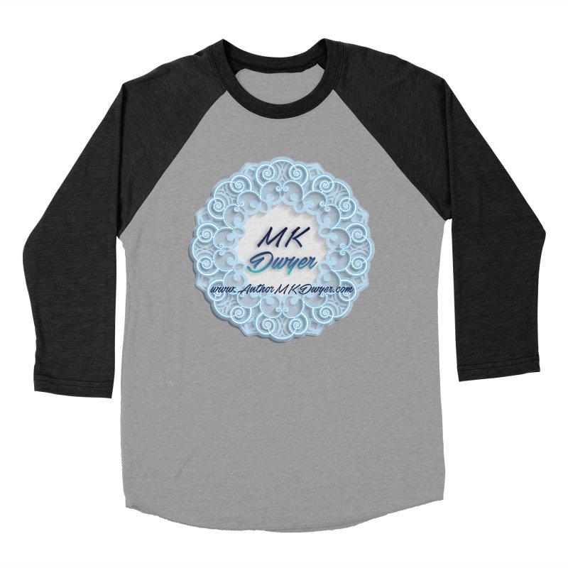 MK Dwyer Logo Women's Baseball Triblend Longsleeve T-Shirt by AuthorMKDwyer's Artist Shop