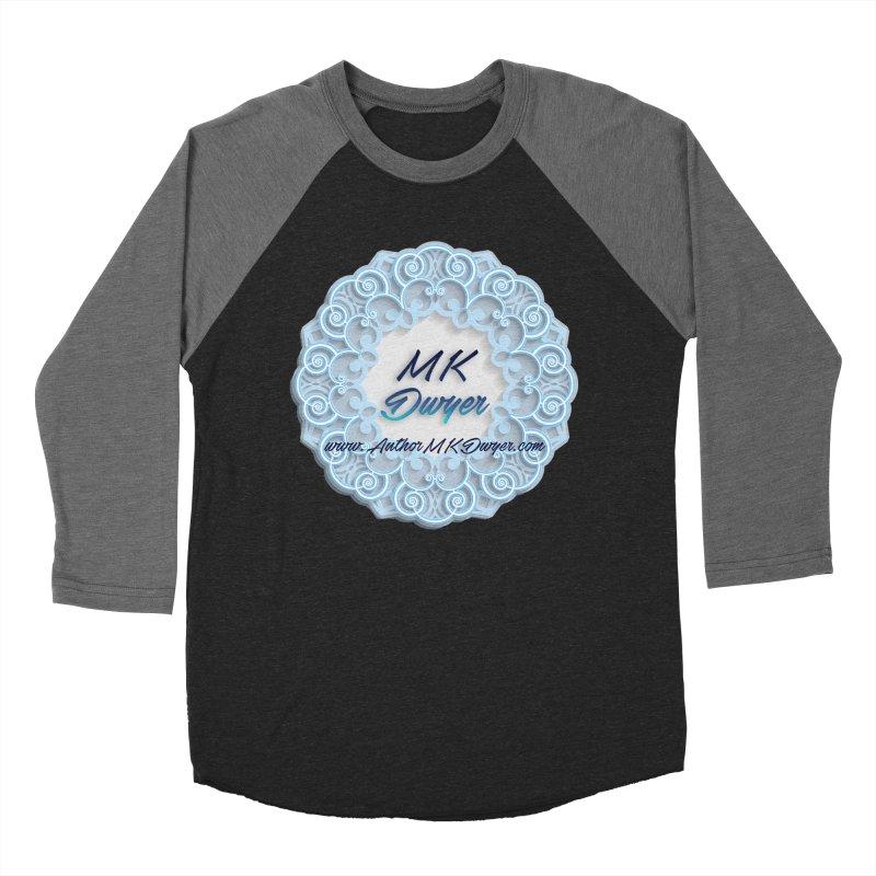 MK Dwyer Logo Men's Baseball Triblend Longsleeve T-Shirt by AuthorMKDwyer's Artist Shop