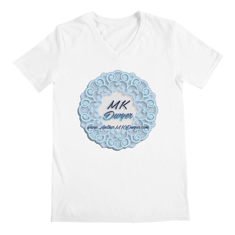 MK Dwyer Logo Men's V-Neck by AuthorMKDwyer's Artist Shop