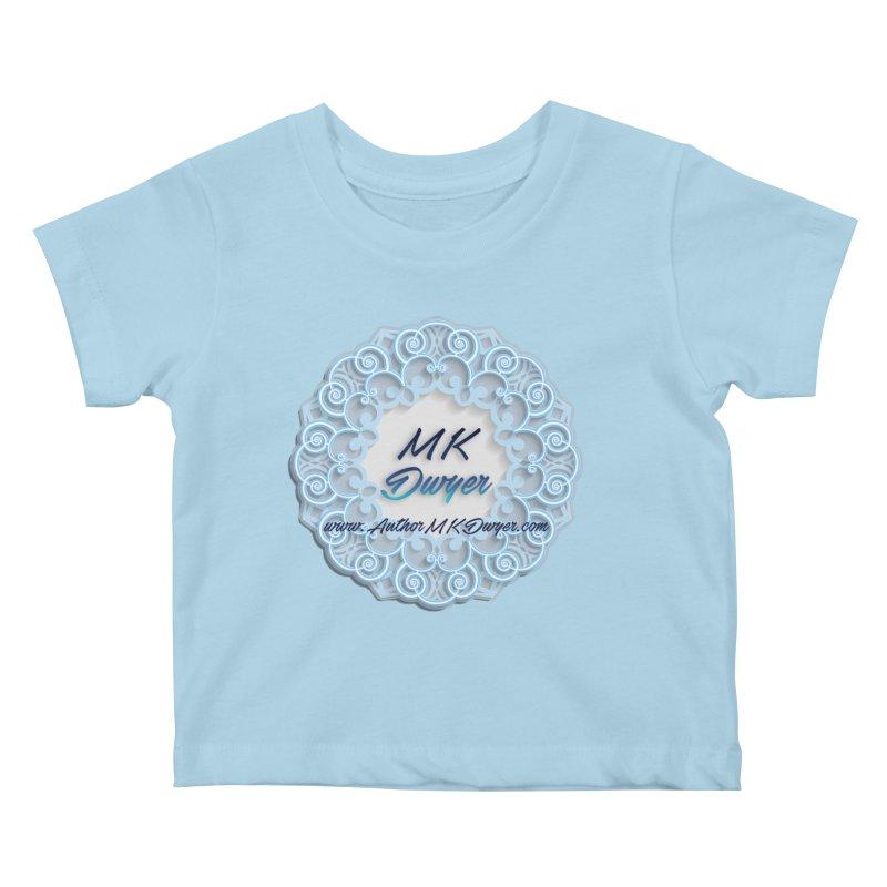 MK Dwyer Logo Kids Baby T-Shirt by AuthorMKDwyer's Artist Shop