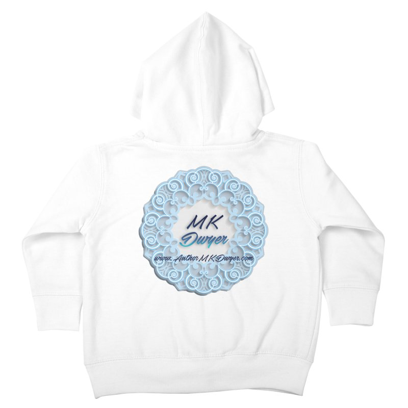 MK Dwyer Logo Kids Toddler Zip-Up Hoody by AuthorMKDwyer's Artist Shop