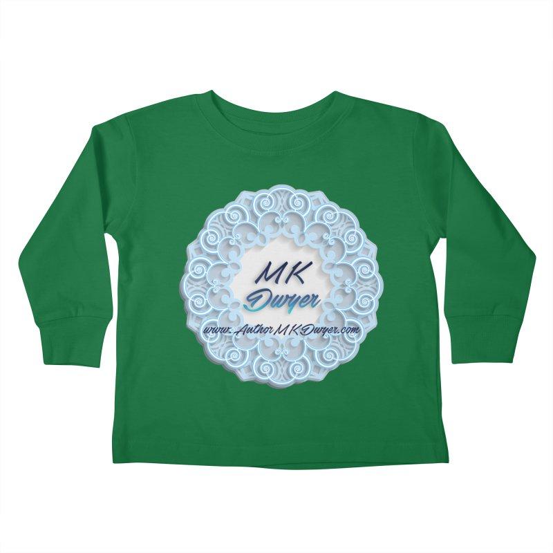 MK Dwyer Logo Kids Toddler Longsleeve T-Shirt by AuthorMKDwyer's Artist Shop