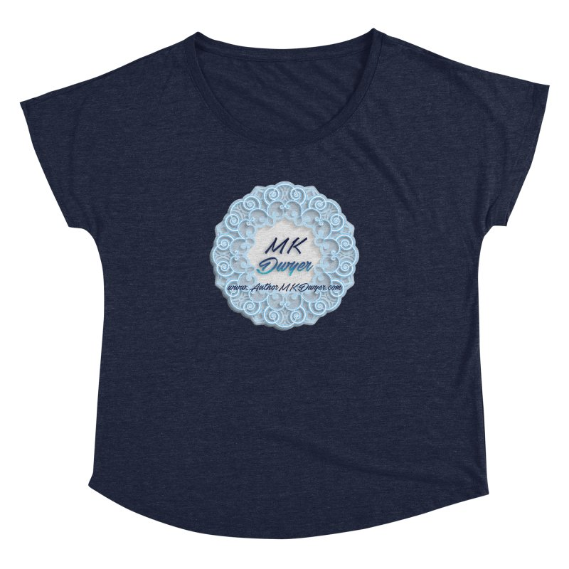 MK Dwyer Logo Women's Dolman Scoop Neck by AuthorMKDwyer's Artist Shop