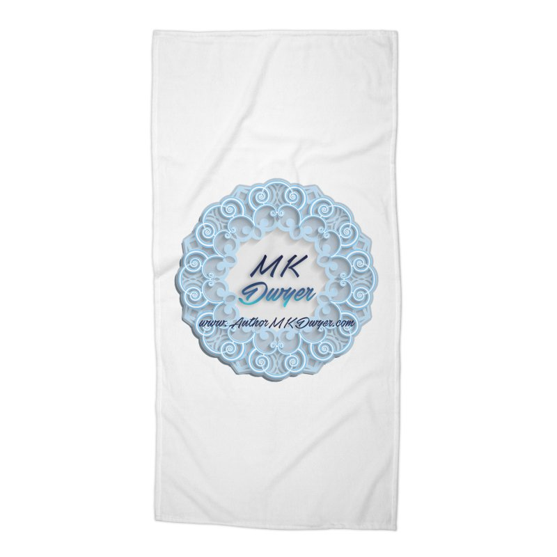 MK Dwyer Logo Accessories Beach Towel by AuthorMKDwyer's Artist Shop
