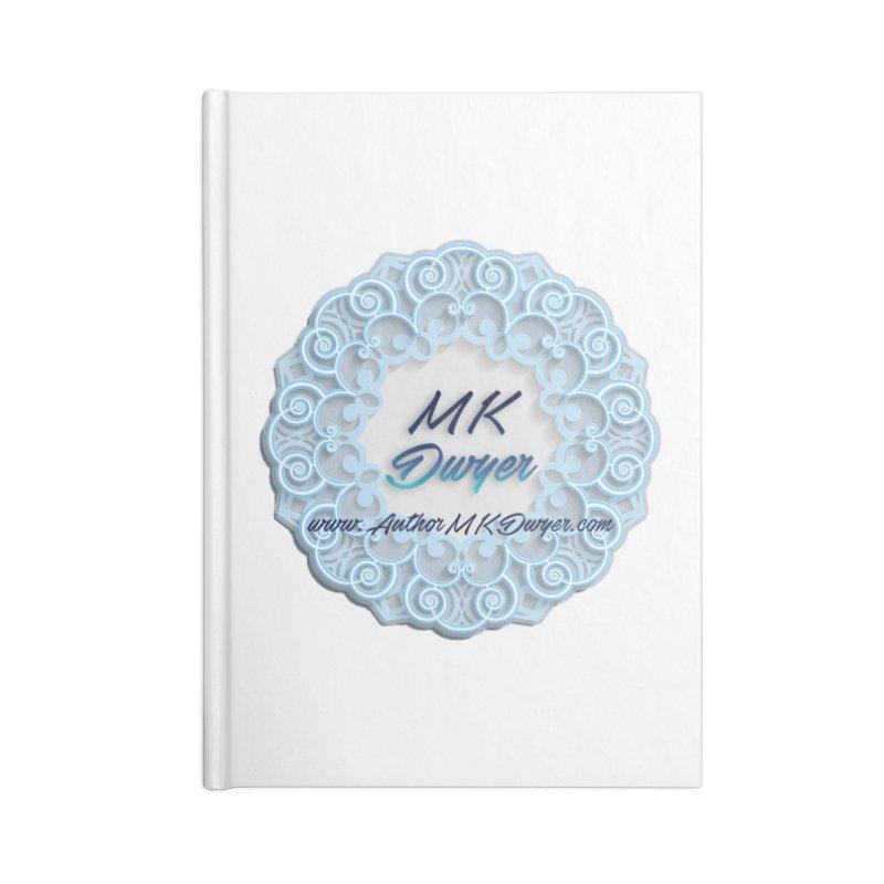 MK Dwyer Logo Accessories Blank Journal Notebook by AuthorMKDwyer's Artist Shop