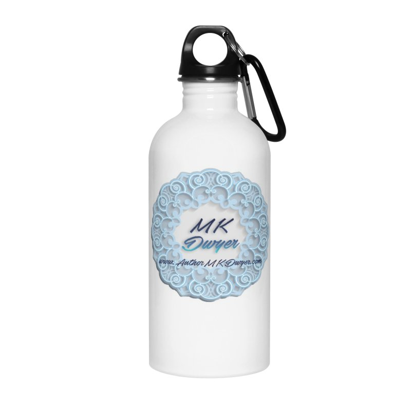 MK Dwyer Logo Accessories Water Bottle by AuthorMKDwyer's Artist Shop