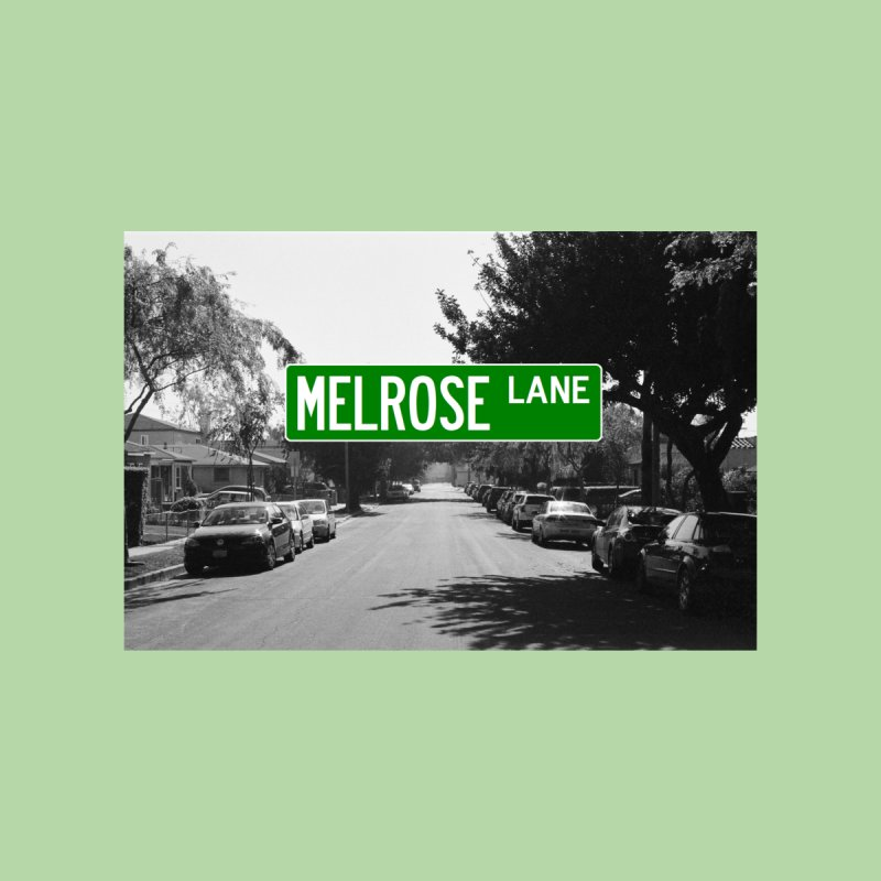 Melrose Lane Men's T-Shirt by AuthorMKDwyer's Artist Shop