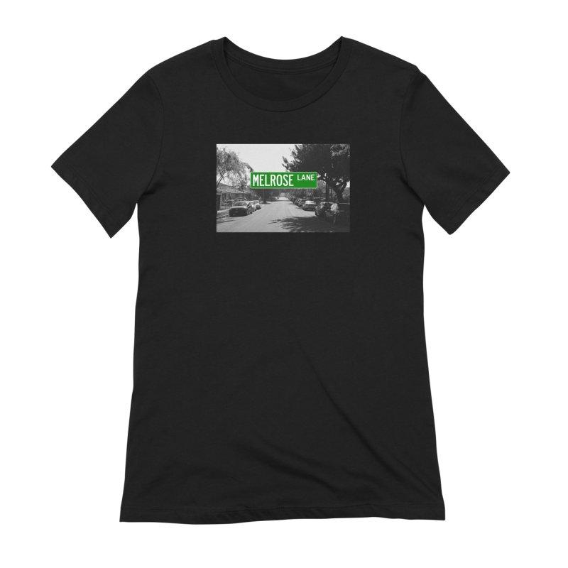 Melrose Lane Women's Extra Soft T-Shirt by AuthorMKDwyer's Artist Shop