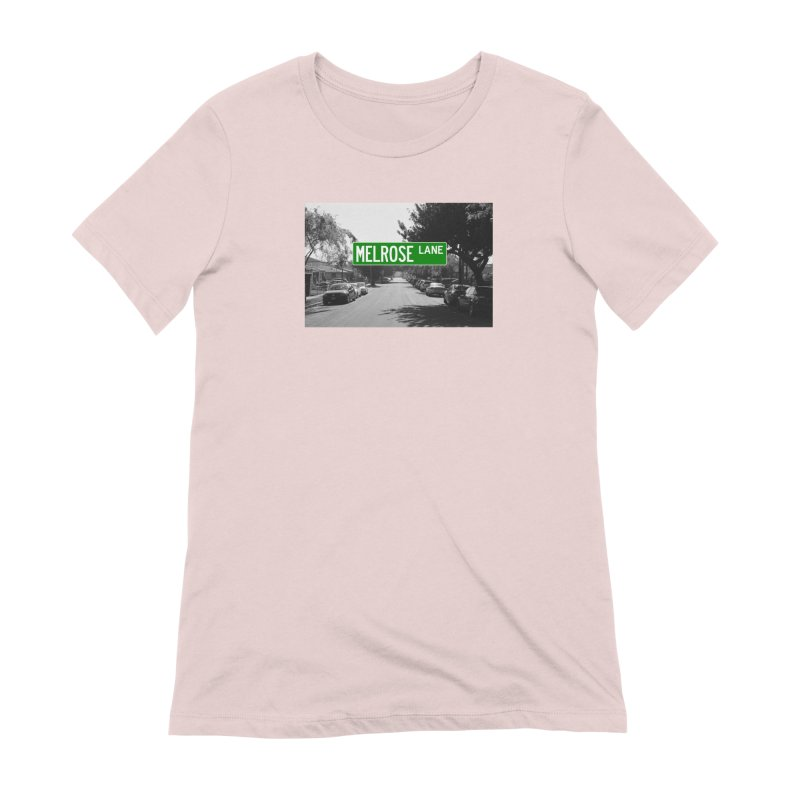Melrose Lane Women's Extra Soft T-Shirt by AuthorMKDwyer's Artist Shop