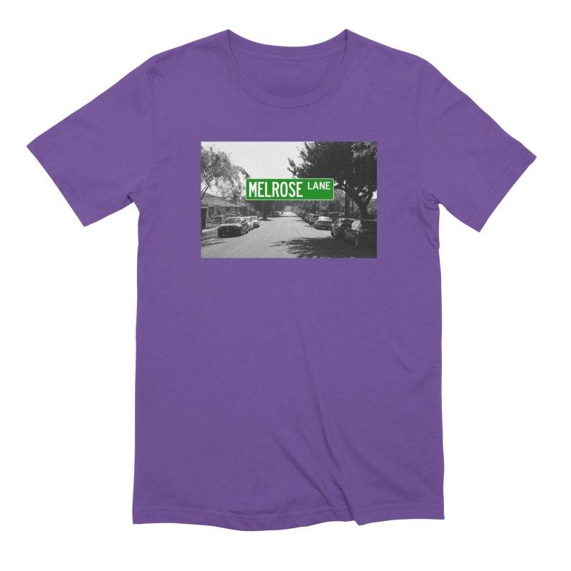 Melrose Lane Men's Extra Soft T-Shirt by AuthorMKDwyer's Artist Shop