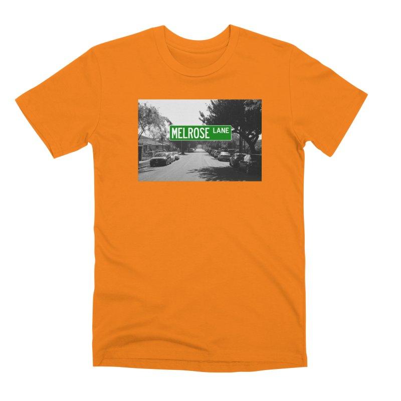 Melrose Lane Men's T-Shirt by AuthorMKDwyer's Artist Shop