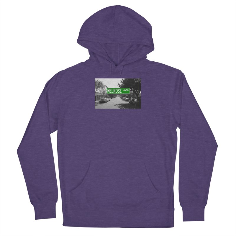 Melrose Lane Men's French Terry Pullover Hoody by AuthorMKDwyer's Artist Shop