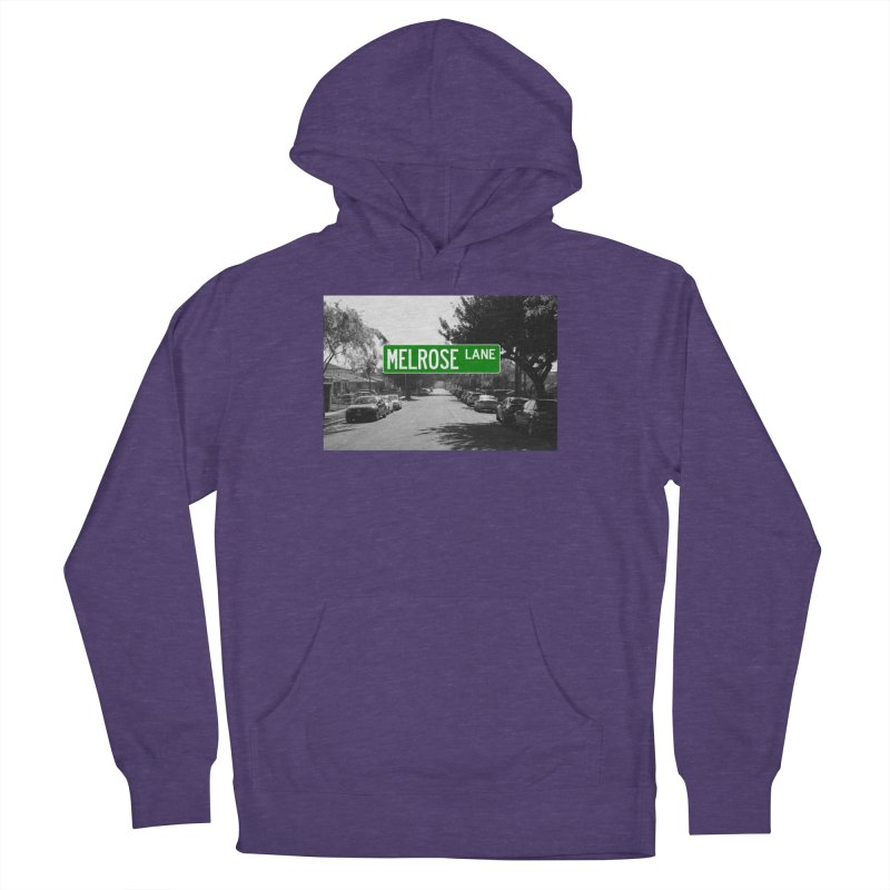 Melrose Lane Women's French Terry Pullover Hoody by AuthorMKDwyer's Artist Shop