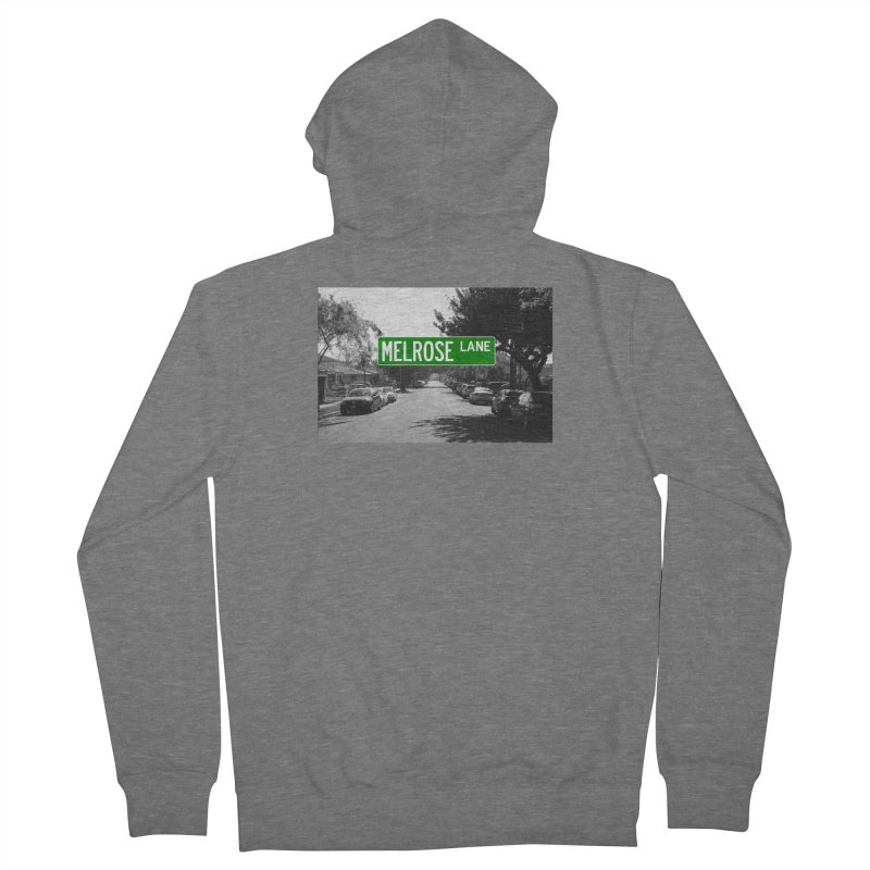 Melrose Lane Men's French Terry Zip-Up Hoody by AuthorMKDwyer's Artist Shop