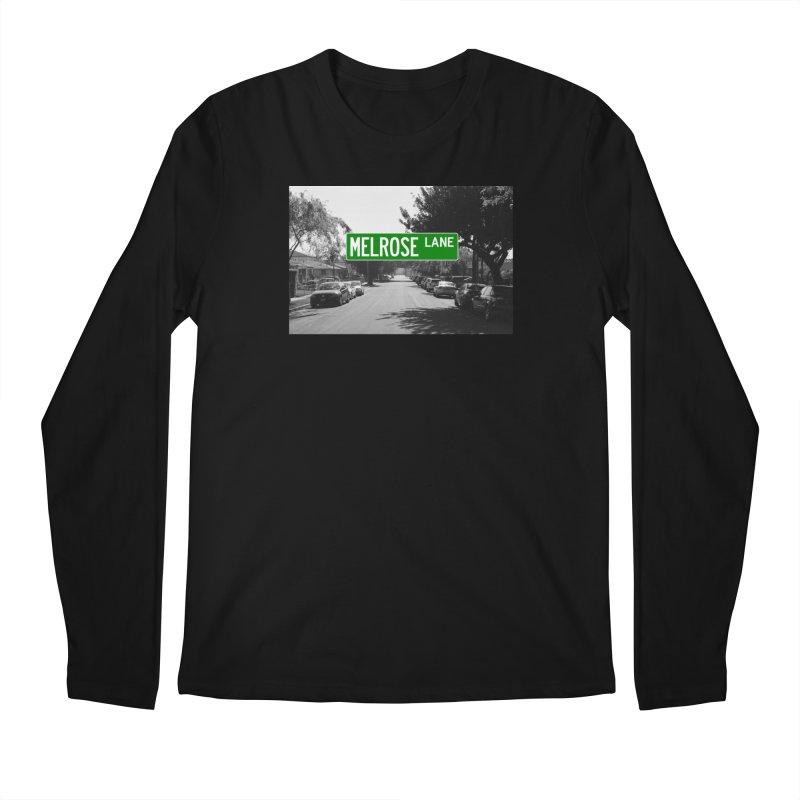 Melrose Lane Men's Regular Longsleeve T-Shirt by AuthorMKDwyer's Artist Shop
