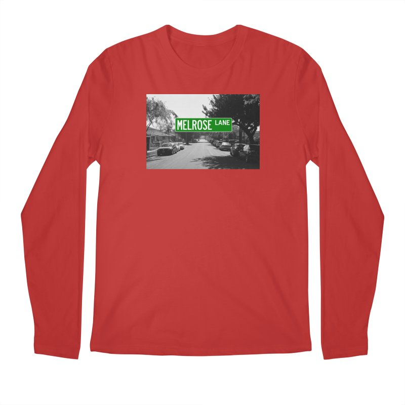 Melrose Lane Men's Regular Longsleeve T-Shirt by AuthorMKDwyer's Artist Shop