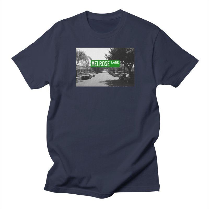 Melrose Lane Women's Regular Unisex T-Shirt by AuthorMKDwyer's Artist Shop