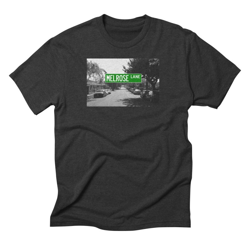 Melrose Lane Men's Triblend T-Shirt by AuthorMKDwyer's Artist Shop