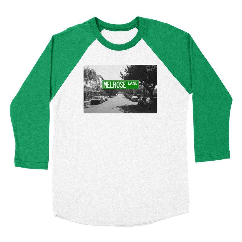 Melrose Lane Women's Baseball Triblend Longsleeve T-Shirt by AuthorMKDwyer's Artist Shop