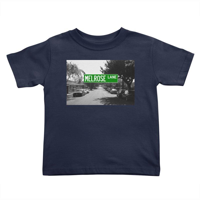 Melrose Lane Kids Toddler T-Shirt by AuthorMKDwyer's Artist Shop