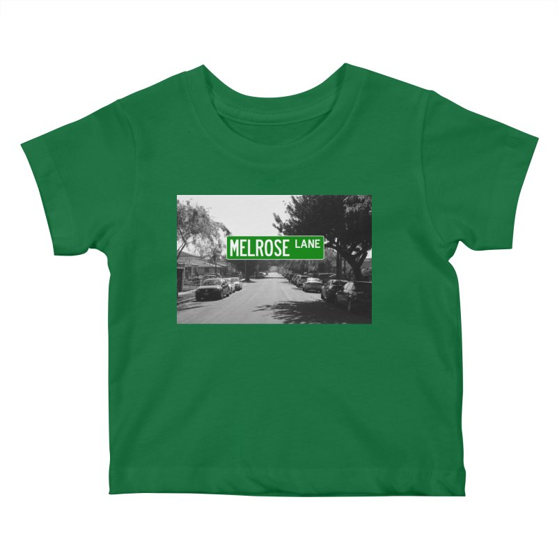 Melrose Lane Kids Baby T-Shirt by AuthorMKDwyer's Artist Shop