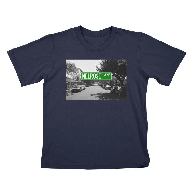 Melrose Lane Kids T-Shirt by AuthorMKDwyer's Artist Shop