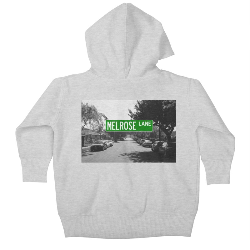 Melrose Lane Kids Baby Zip-Up Hoody by AuthorMKDwyer's Artist Shop
