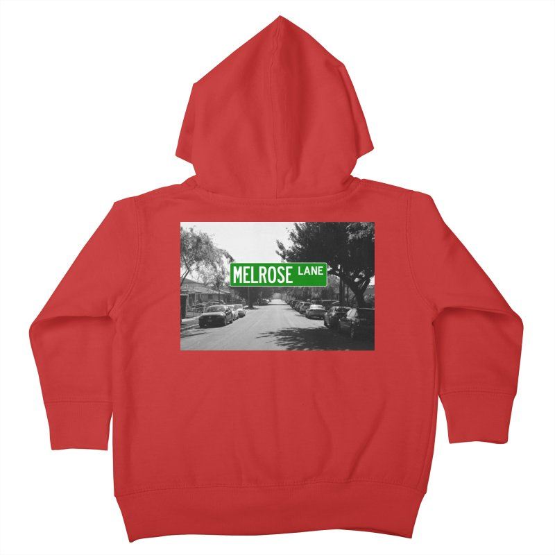 Melrose Lane Kids Toddler Zip-Up Hoody by AuthorMKDwyer's Artist Shop