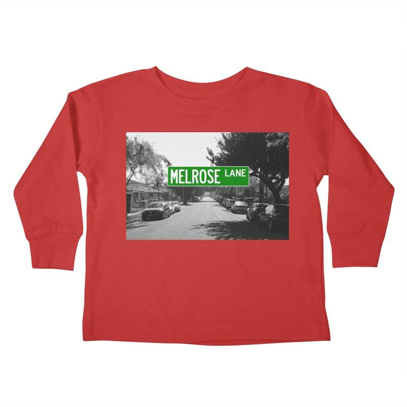 Melrose Lane Kids Toddler Longsleeve T-Shirt by AuthorMKDwyer's Artist Shop