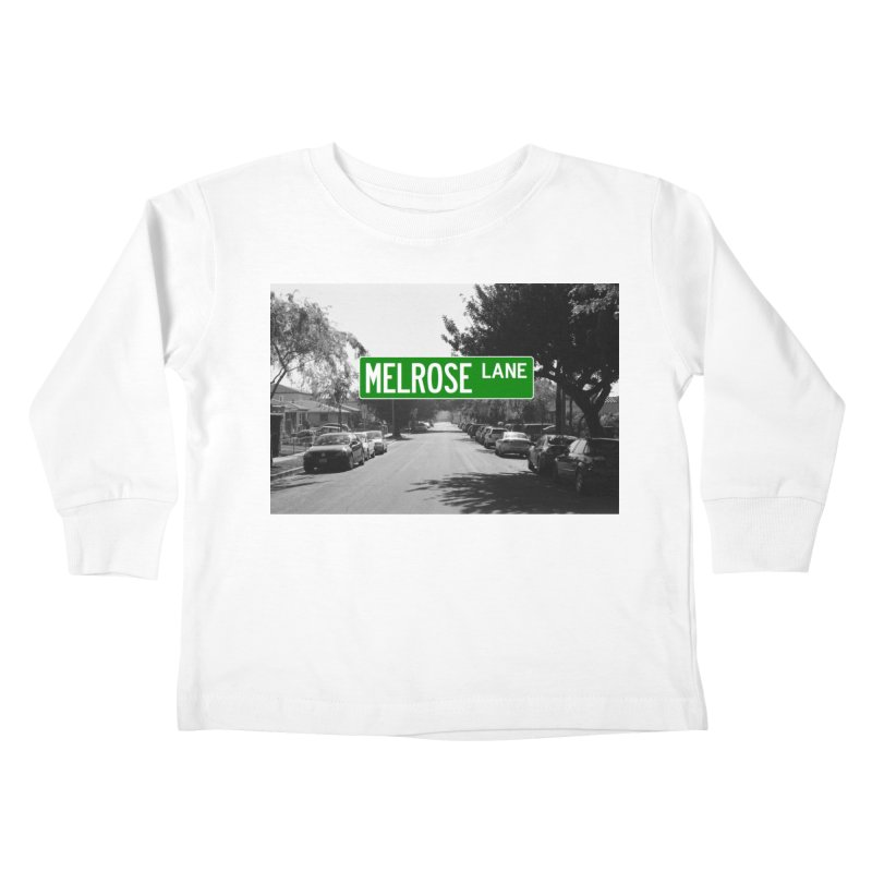 Melrose Lane Kids Toddler Longsleeve T-Shirt by AuthorMKDwyer's Artist Shop