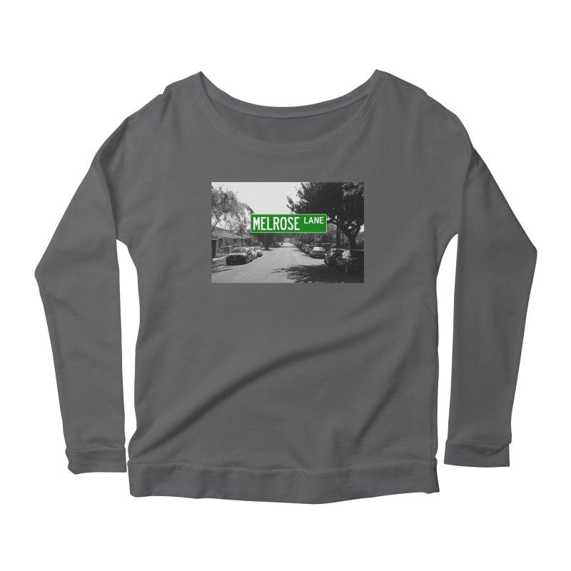 Melrose Lane Women's Scoop Neck Longsleeve T-Shirt by AuthorMKDwyer's Artist Shop