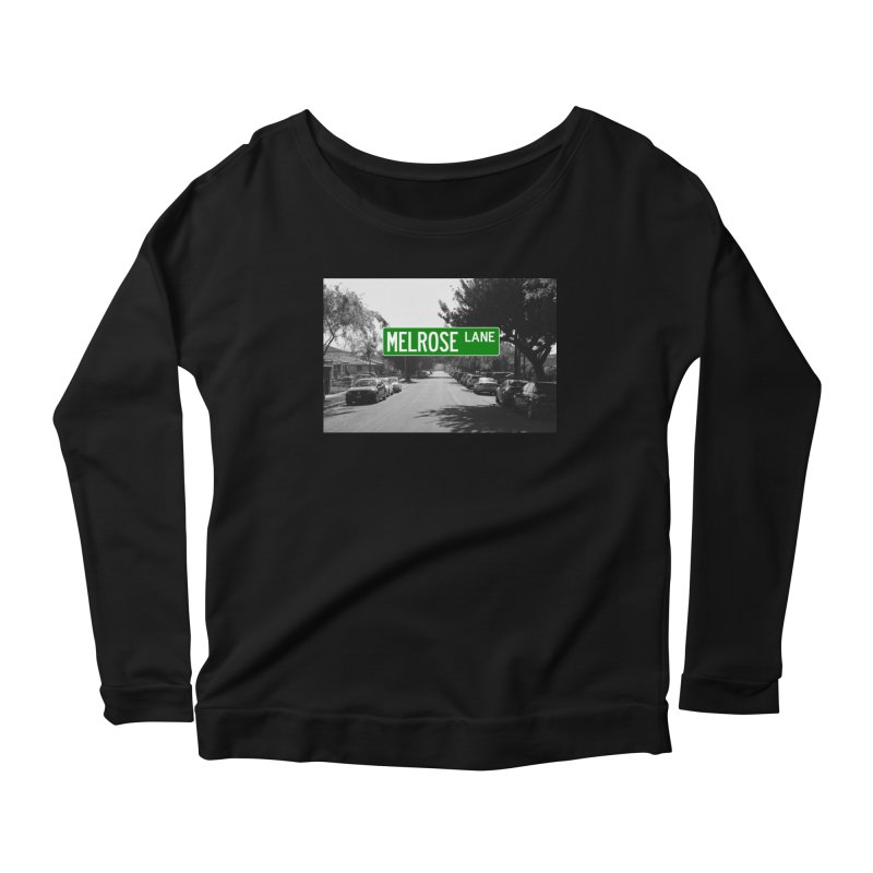 Melrose Lane Women's Scoop Neck Longsleeve T-Shirt by AuthorMKDwyer's Artist Shop